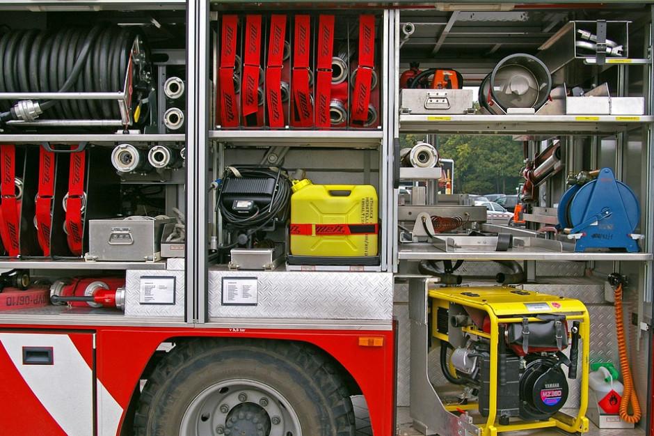 Podlaskie: Ponad 140 interwencji strażaków w związku z burz, 24 tys. odbiorców bez prądu