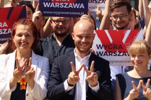 """Wygra Warszawa przedstawia """"jedynki"""" na listach do rady miasta"""