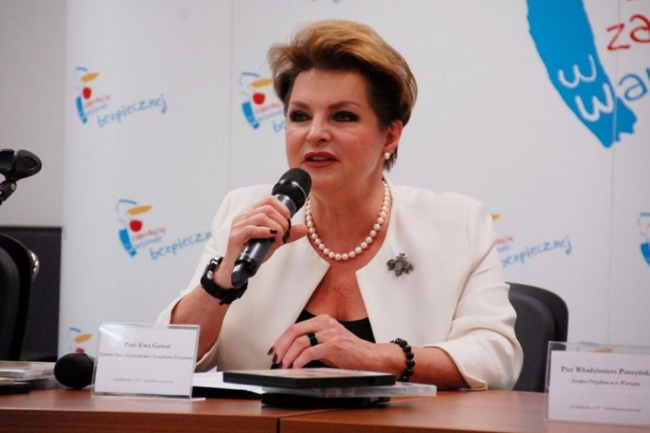 Rozenek: Jeśli wygram wybory, Ewa Gawor zostanie na stanowisku