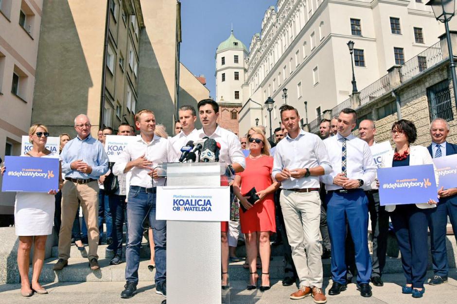Szczecin: Koalicja Obywatelska zainaugurowała kampanię wyborczą