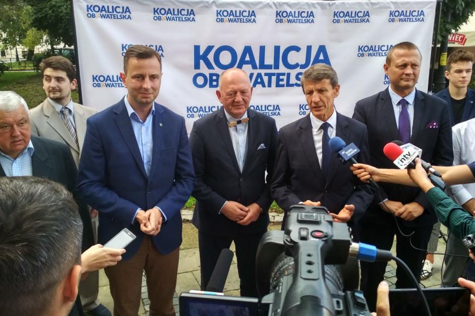 Leszek Zegzda kandydatem Koalicji Obywatelskiej na prezydenta Nowego Sącza