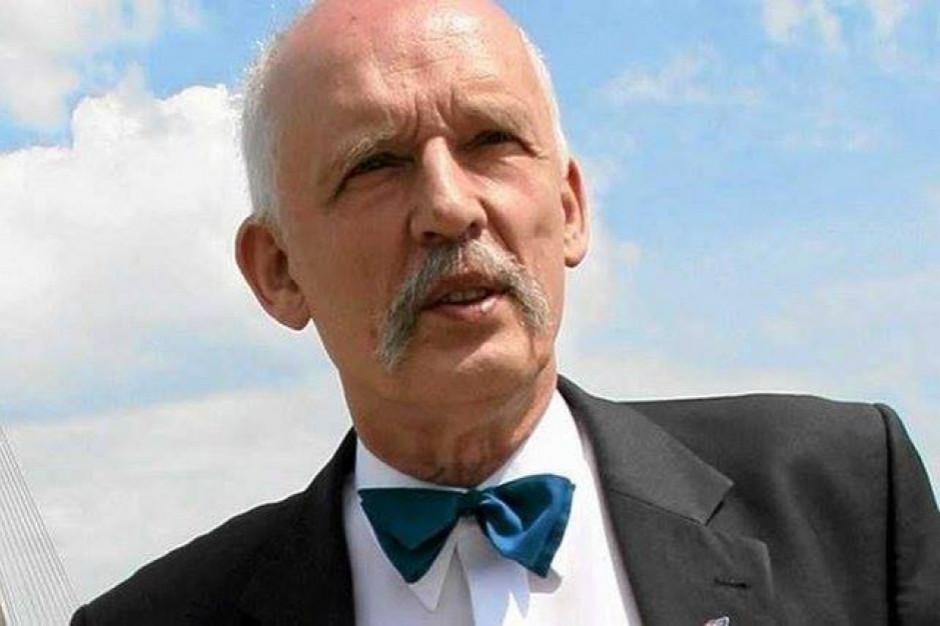 Janusz Korwin-Mikke zapowiedział pozwy wobec Jakiego i Trzaskowskiego o duże odszkodowanie