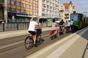 W Poznaniu nauczą, jak bezpiecznie poruszać się po mieście na rowerze