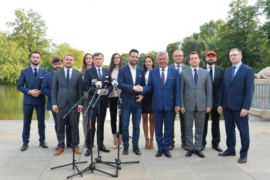 Wybory samorządowe: Patryk Jaki zaprezentował skład sztabu wyborczego