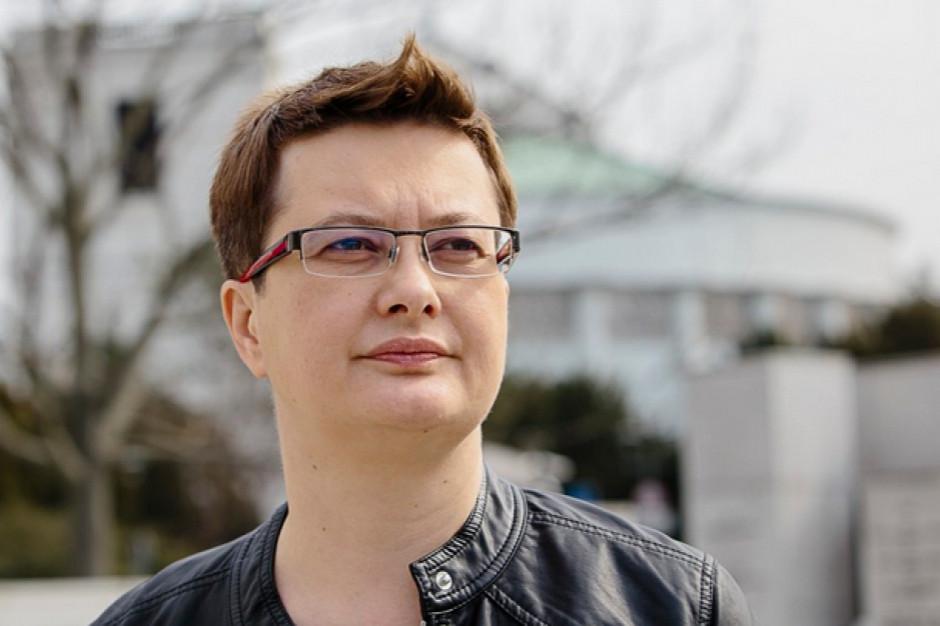 Katarzyna Lubnauer o szansach Roberta Biedronia: Pompowanie balonika
