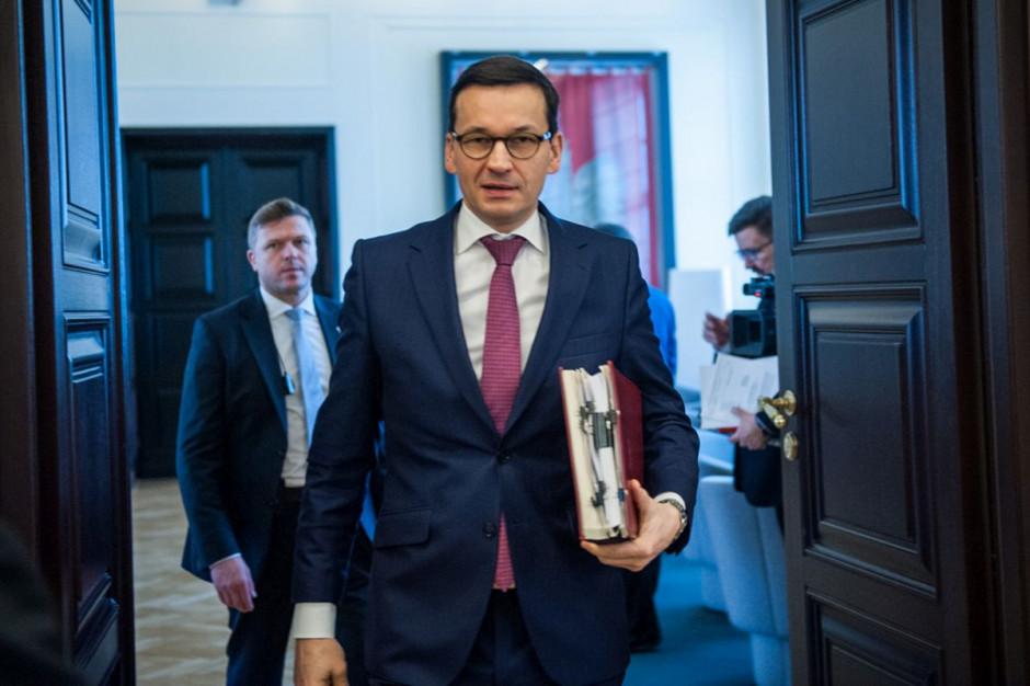 """Mateusz Morawiecki: samorządu jest """"w sam raz"""""""
