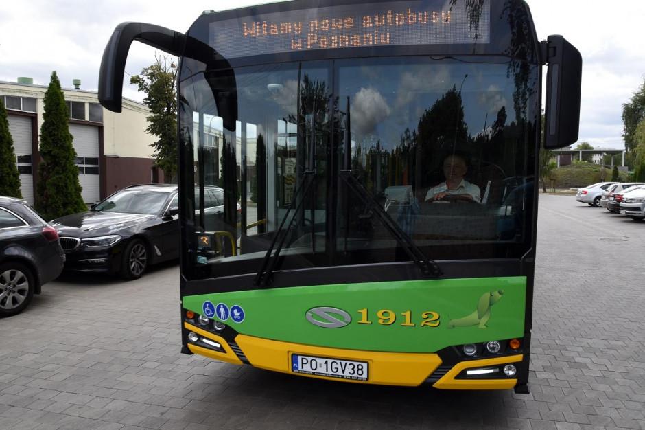 Kolejne autobusy wyjechały na ulice Poznania