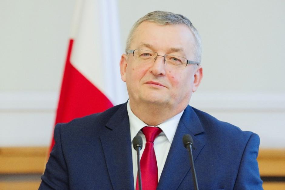 Andrzej Adamczyk: Realizacja programu rządowego zależy od współpracy z samorządami