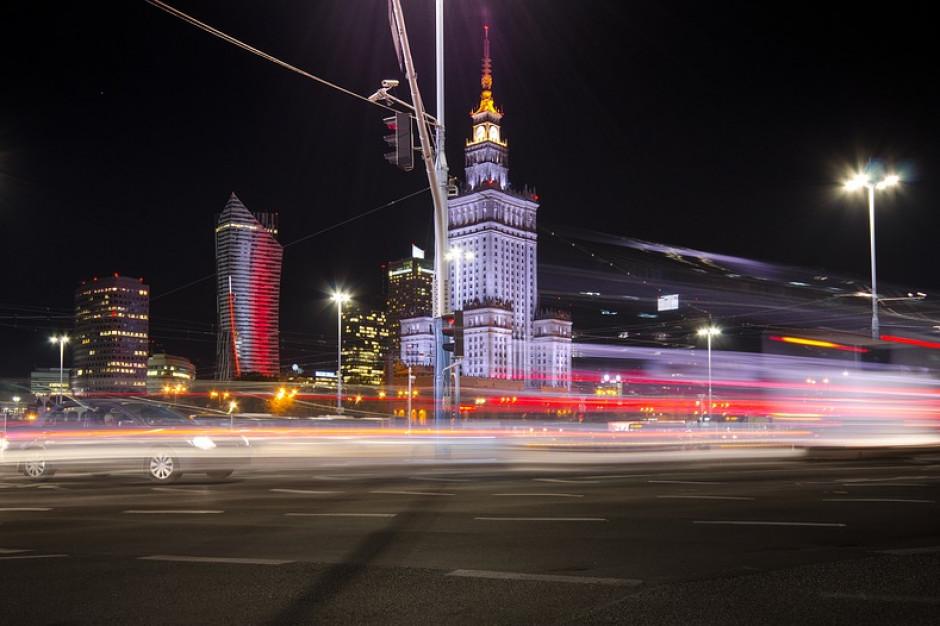 W weekend utrudnienia na drogach Warszawy