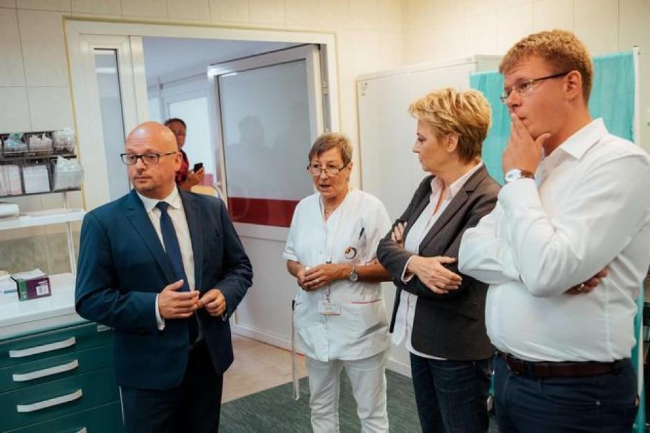 Łódź: Szpitalny Oddział Ratunkowy w Jonscherze zmodernizowany i wyposażony za 5 mln