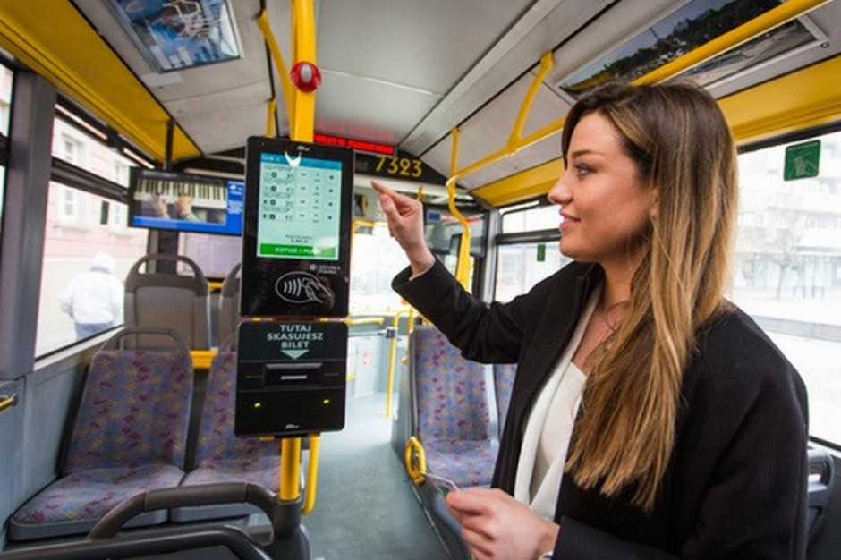 Gdańsk testuje biletomaty w autobusach