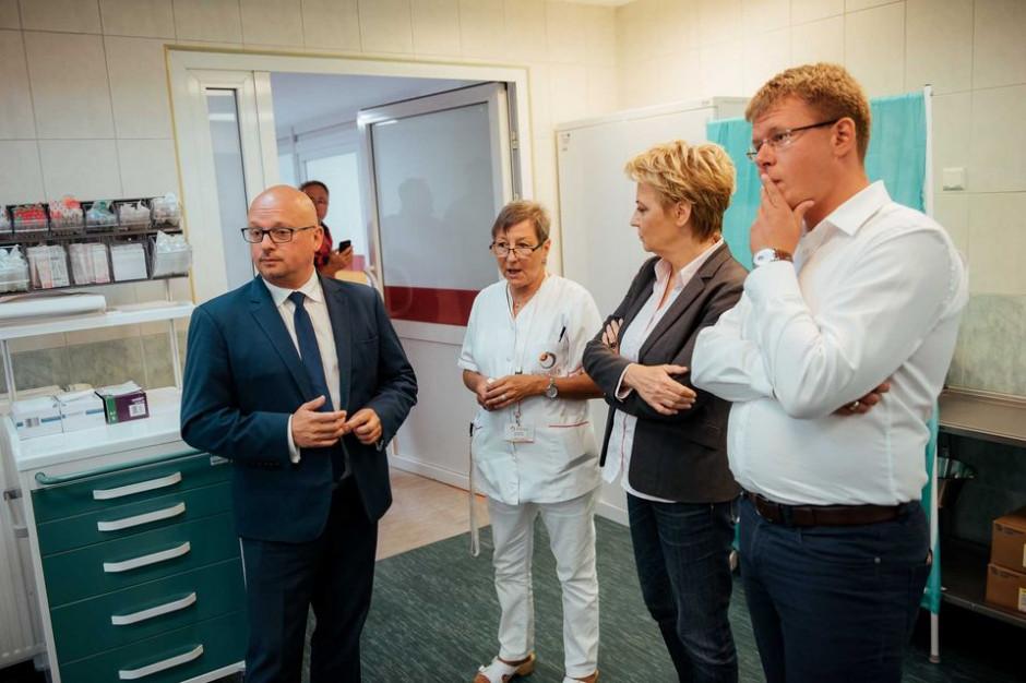 Łódź: Oddział ratunkowy w szpitalu im. Jonschera już po modernizacji