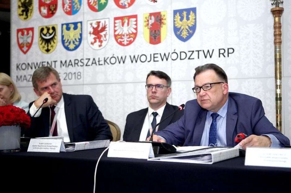 Konwent Marszałków krytycznie o zmianach dotyczących ochrony środowiska