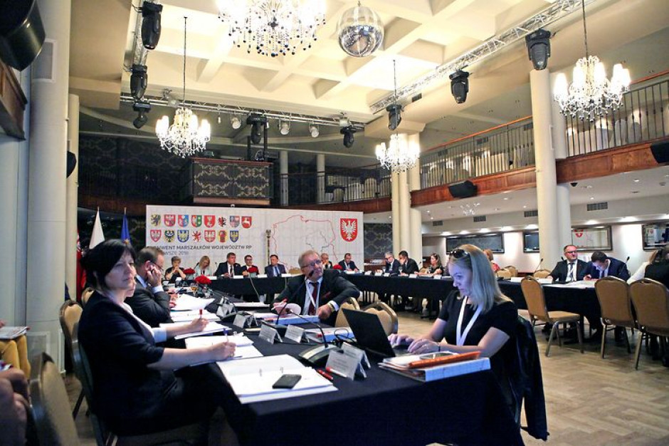 Marszałkowie także o wyborach, transporcie i polityce spójności