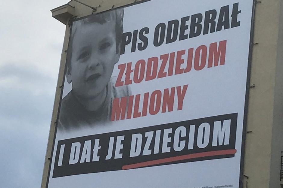 W sobotę PiS zaprezentuje odpowiedź na akcję billboardową PO