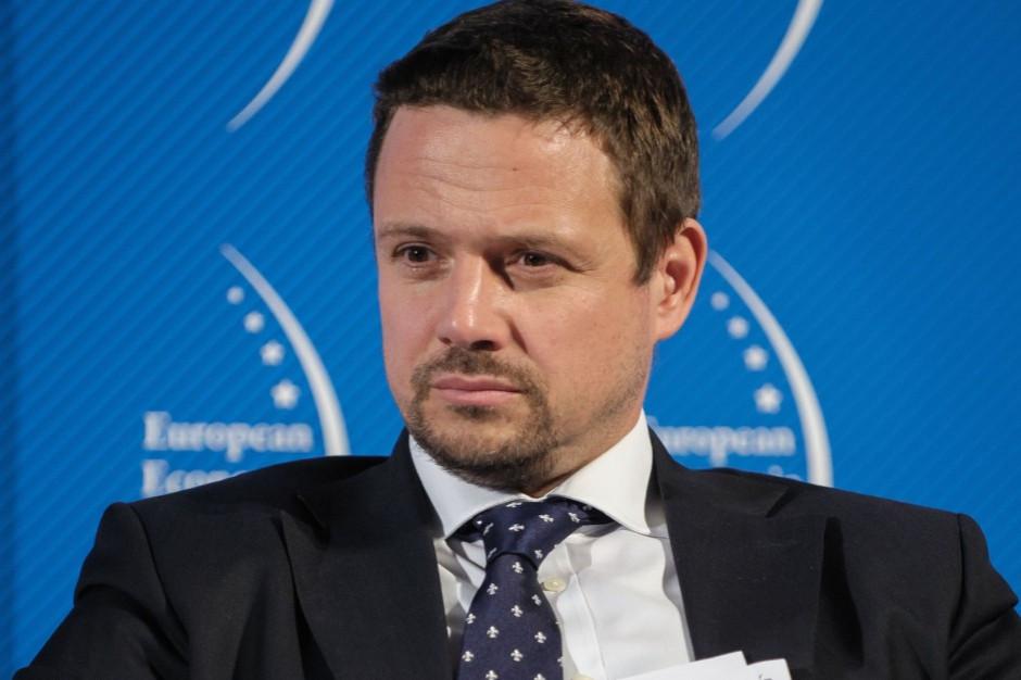 Trzaskowski: wypowiedź Gowina to pierwszy krok na drodze do wyprowadzenia Polski z UE