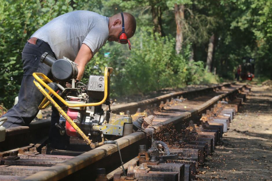 Dobiegają końca prace przy przedłużeniu kolejki wąskotorowej w Rybniku