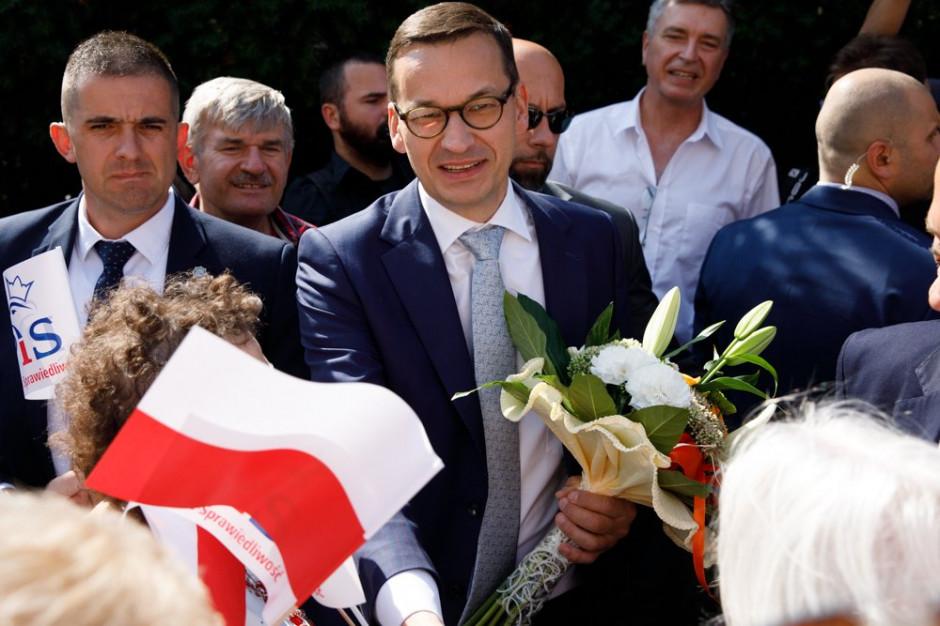 Mateusz Morawiecki: Jarosław Kaczyński będzie bardzo mocno obecny podczas kampanii