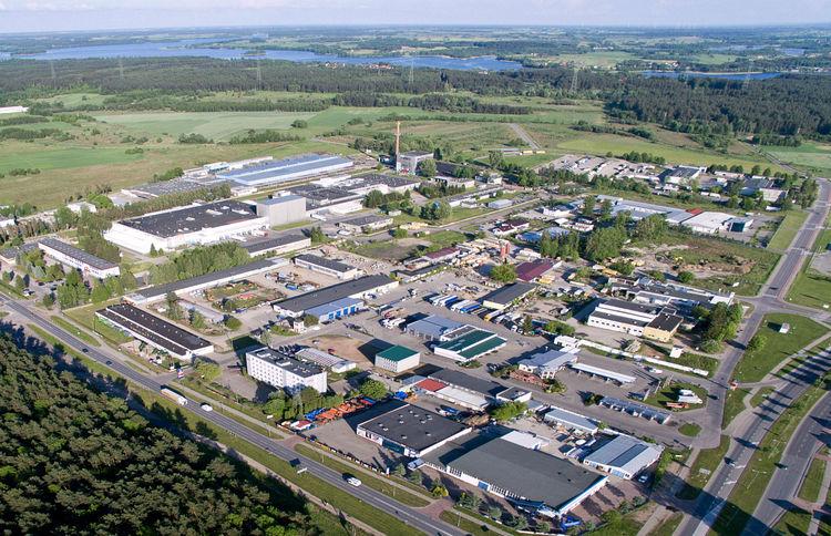 Suwalska Specjalna Strefa Ekonomiczna, w której powstała fabryka płyt wiórowych Forte (fot. paih.gov.pl)