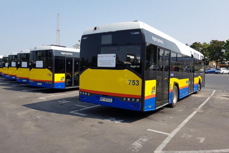 Pierwszy autobus hybrydowy na ulicach Płocka