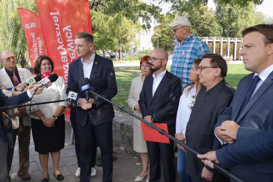 """Monika Jaruzelska, Andrzej Rozenek i Jan Hartman wśród """"jedynek"""" SLD do Rady Warszawy"""