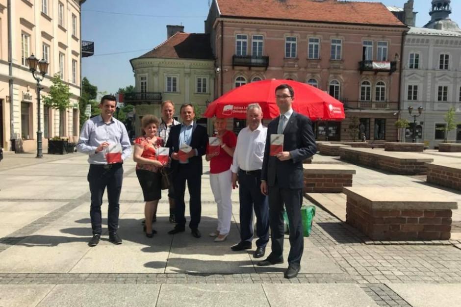 Łódzkie SLD zaprezentowało liderów list do sejmiku i hasło kampanii