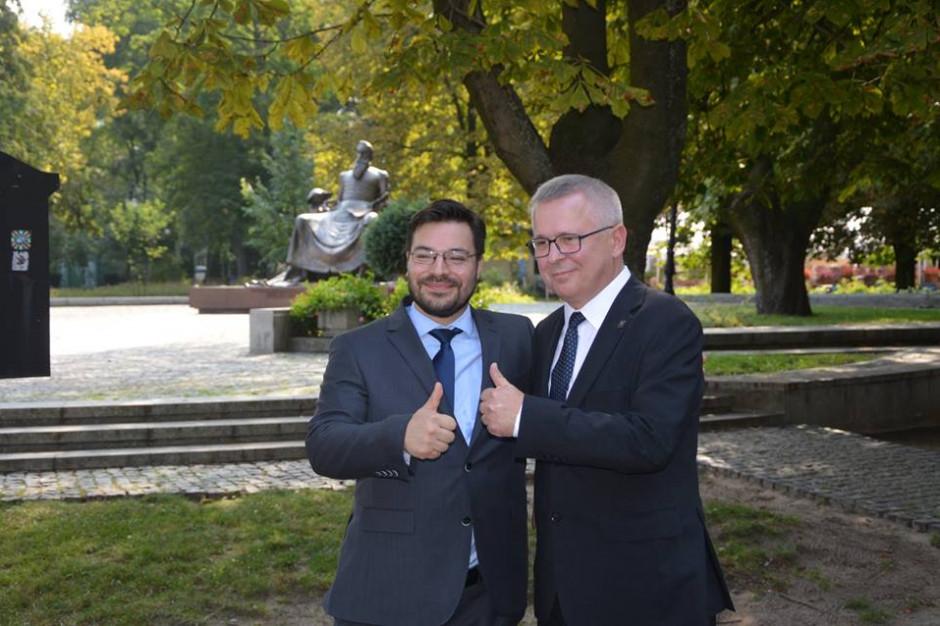 Poseł Robert Mordak kandydatem Kukiz'15 na prezydenta Radomia