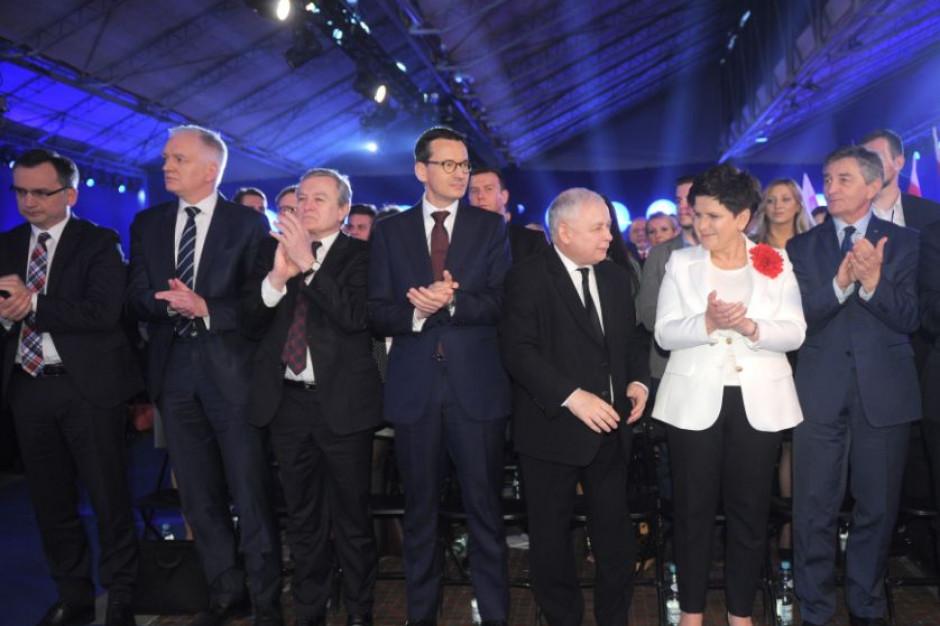Prezes PiS i premier będą bardzo aktywni w kampanii wyborczej
