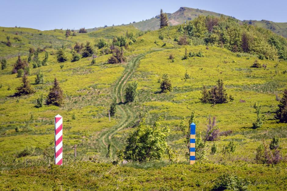 W Bieszczadach pogoda sprzyja turystom; bezwietrznie i słonecznie
