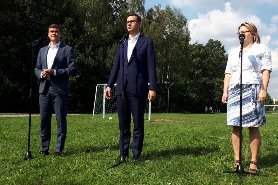 Mateusz Morawiecki w Tychach: W najbliższych latach przeznaczymy ponad 500 mln zł na obiekty sportowe
