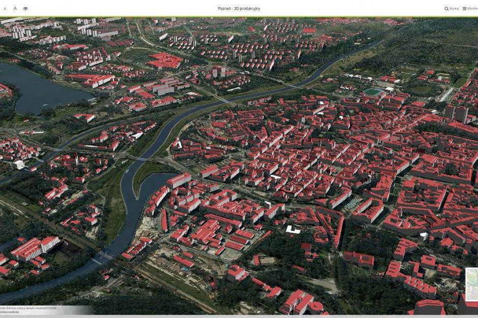 Model Poznania 3D i koncepcje urbanistyczne rozwoju miasta na MTP