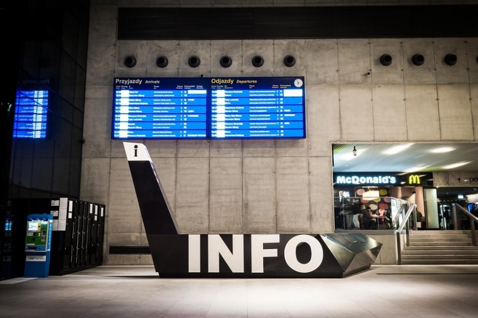 Ewakuacja dworca PKP w Katowicach, ktoś zostawił bagaże bez opieki