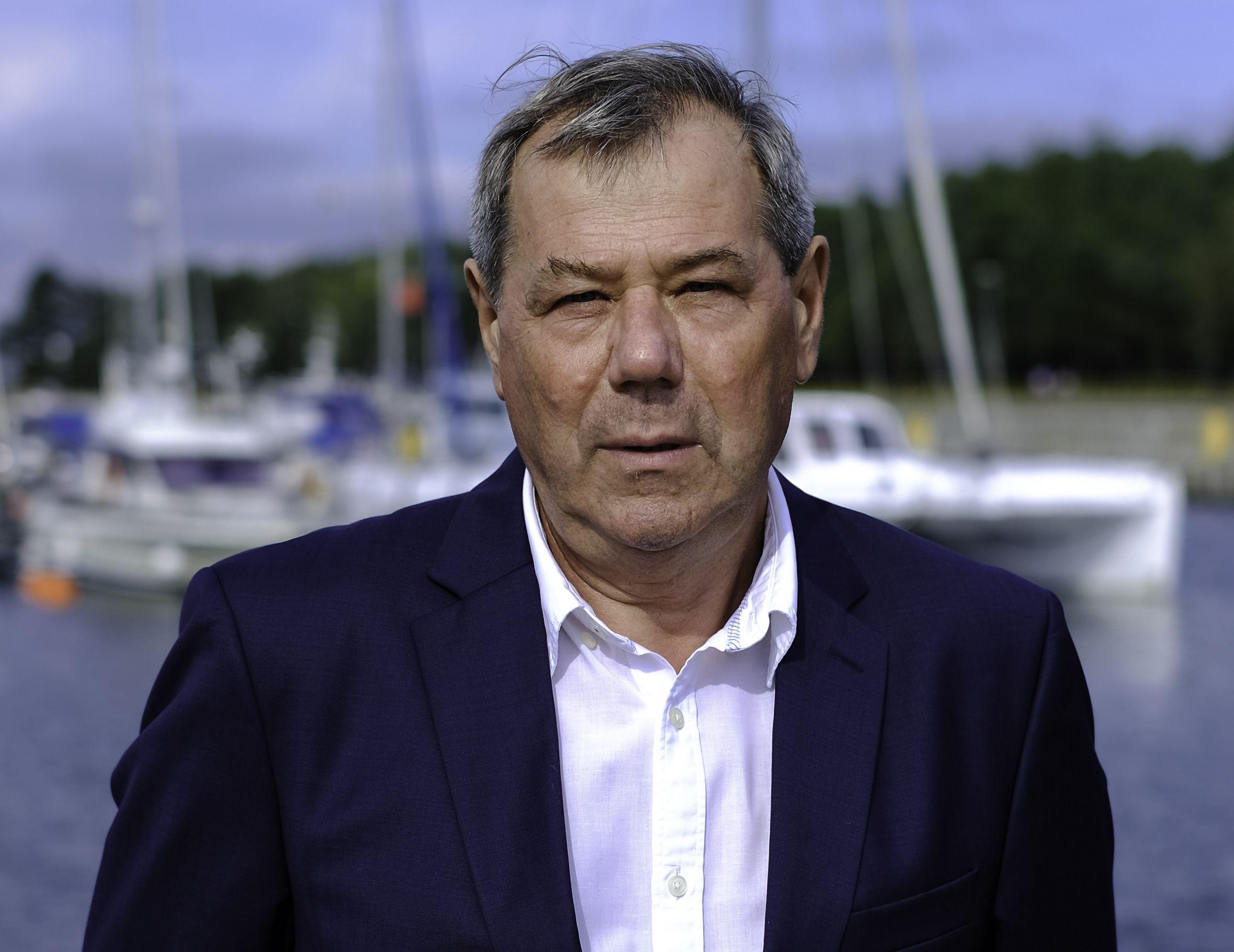 Andrzej Strzechmiński, burmistrz Łeby (Fot. mat. pras.)