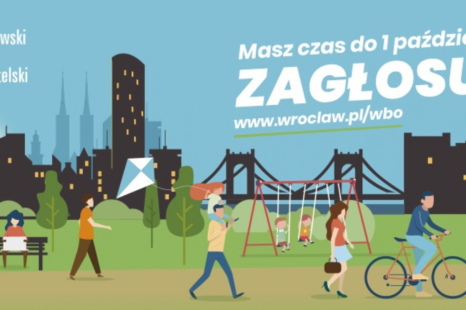 Od piątku można głosować na projekty w ramach Wrocławskiego Budżetu Obywatelskiego