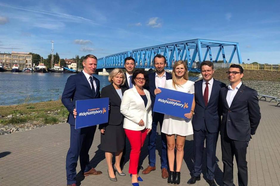 Koalicja odsłania kolejne karty. Komitet przedstawił kandydatów do rady Szczecina i sejmiku