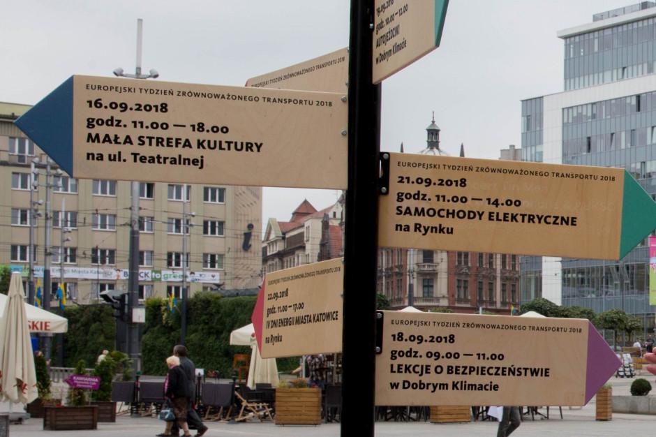 Katowice: Europejski Tydzień Zrównoważonego Transportu