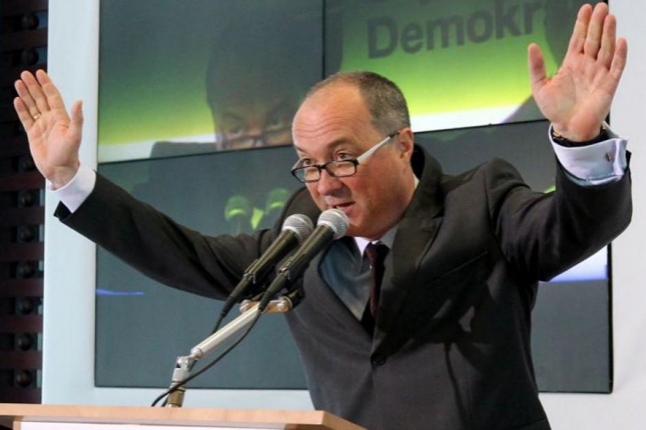 Szef SLD o koalicji z PO: mogę o tym rozmawiać, ale na równoprawnych zasadach