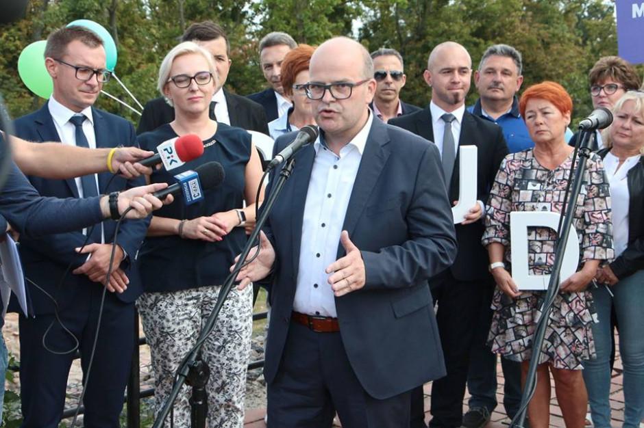 Maciej Glamowski z poparciem Koalicji Obywatelskiej w wyborach na prezydenta Grudziądz