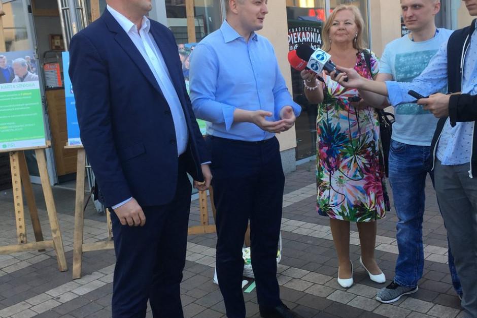 Jakub Stefaniak (PSL) zarejestrował swą kandydaturę na prezydenta stolicy
