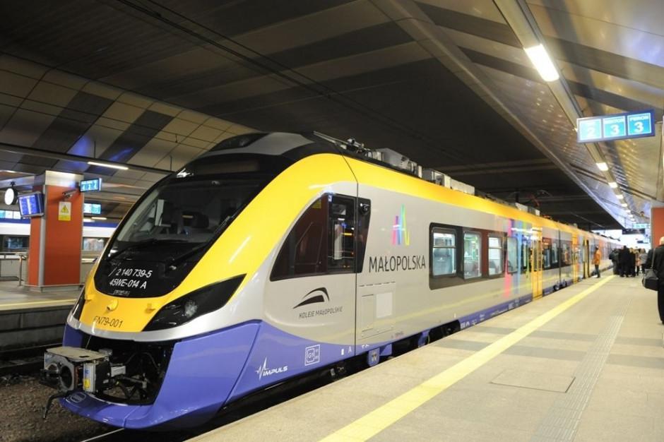 Spór o pociągi dla Kolei Małopolskich. Protestują Przewozy Regionalne