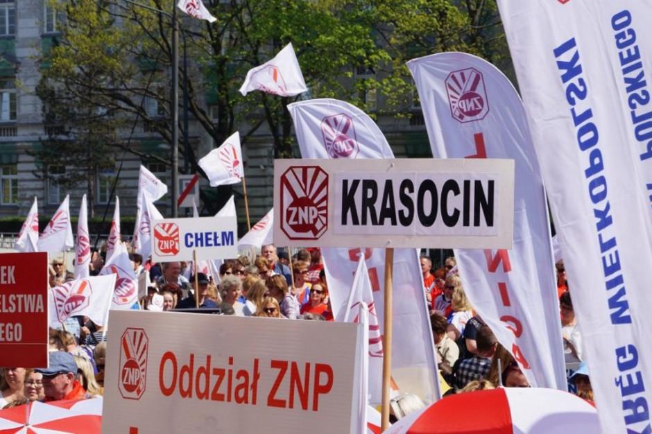 Wielki protest nauczycieli. Chcą podwyżek i dymisji minister edukacji