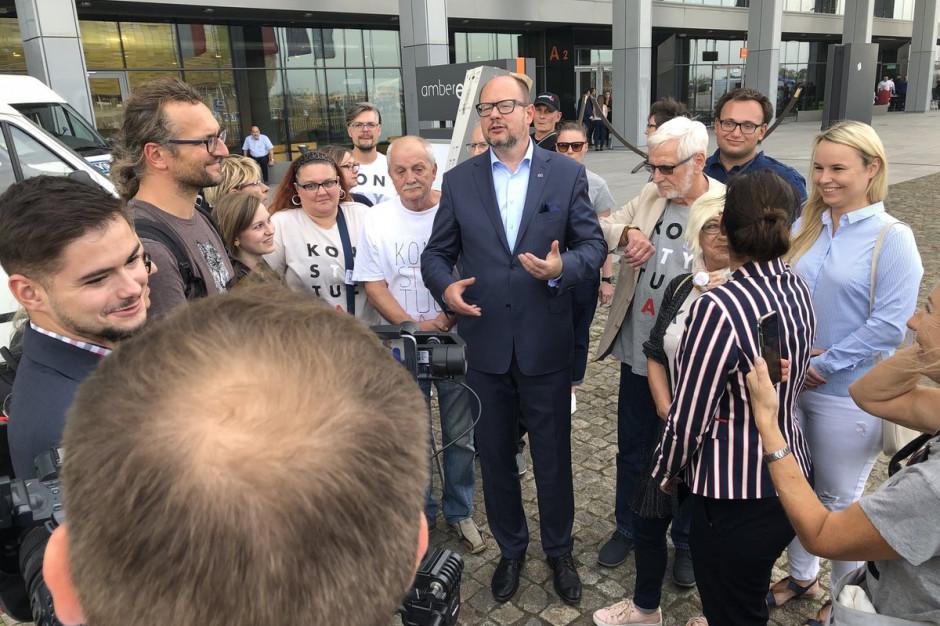 Paweł Adamowicz: Witamy premiera i prezesa PiS w Gdańsku, mieście wolności i solidarności