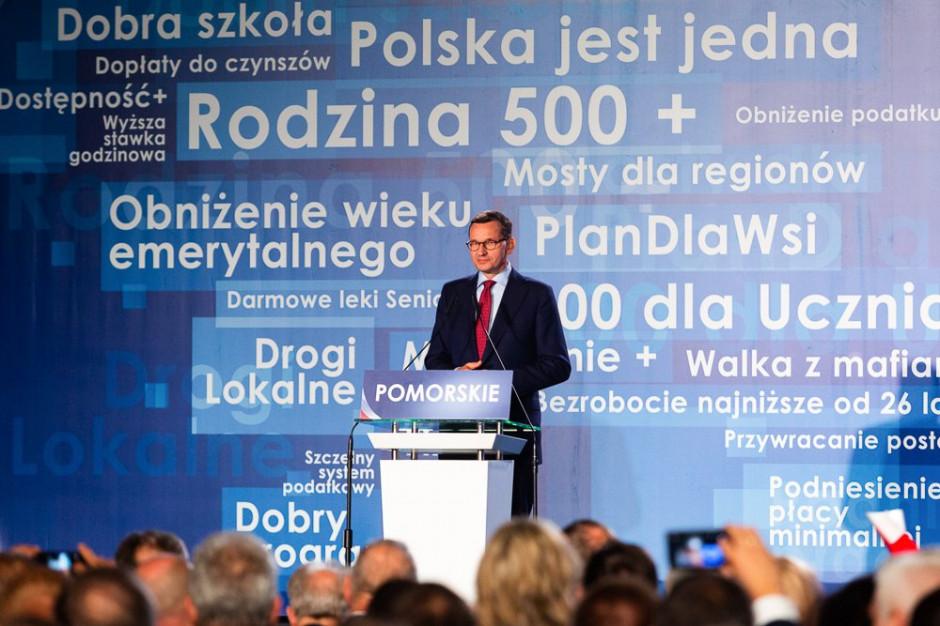 Mateusz Morawiecki: Potrzebujemy zwyciężać również w wyborach samorządowych