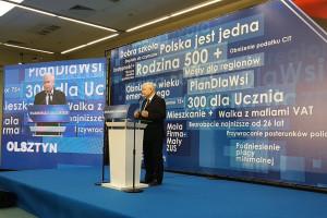 Jarosław Kaczyński: U kandydatów ważne są kwalifikacje, energia i młodość