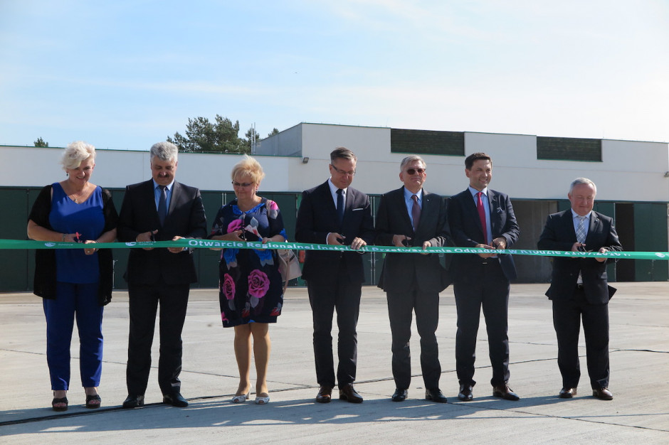 Wielkopolska: Otwarto kolejną Regionalną Instalację Przetwarzania Odpadów