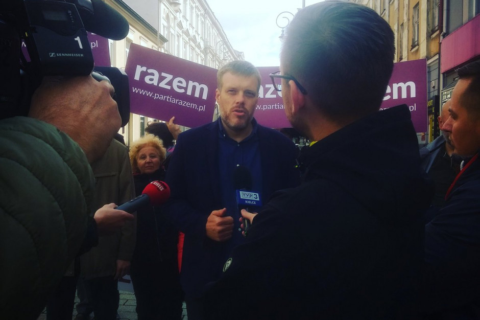 Partia Razem zaprezentowała kandydatów do sejmiku świętokrzyskiego