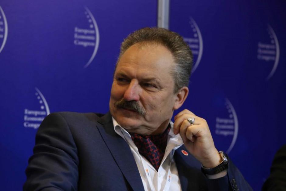 """Marek Jakubiak zapowiada budowę parku rozrywki i powstanie """"Banku Warszawskiego"""""""