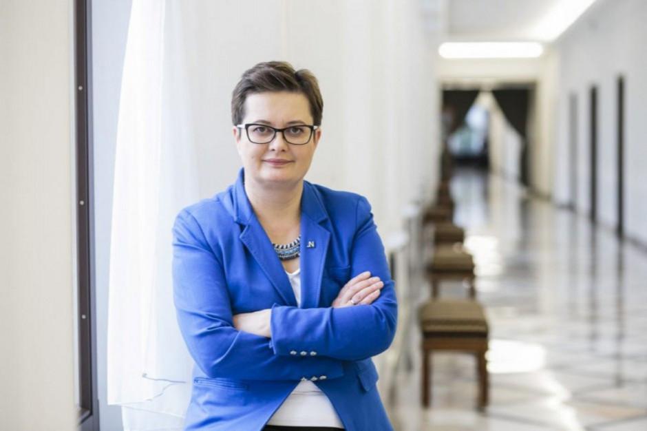 Katarzyna Lubnauer zachęca do wpłacania pieniędzy na Nowoczesną