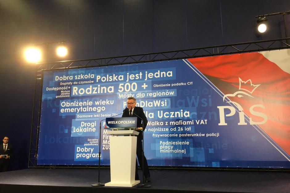 """""""Zysk dla Poznania"""" hasłem wyborczym kandydata PiS na prezydenta miasta"""