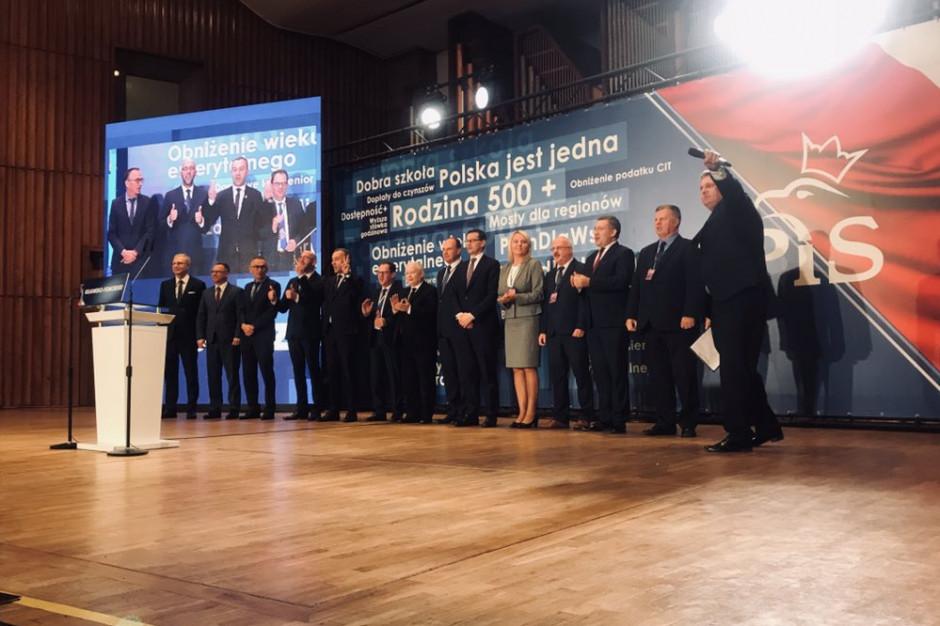 Premier wspiera kandydatów PiS w Bydgoszczy